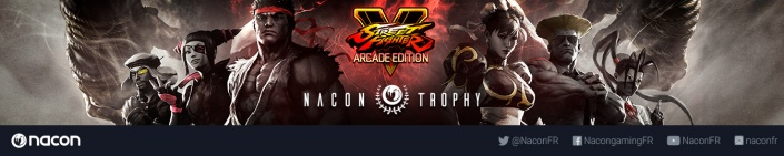 Image du tournoi NACON Street Fighter V Trophy